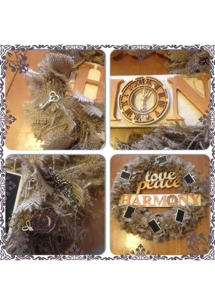 Even more close ups of the wreath...