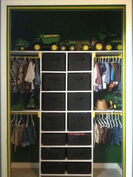 John Deere Themed Boys' Closet | Do It Yourself Home Projects from Ana White