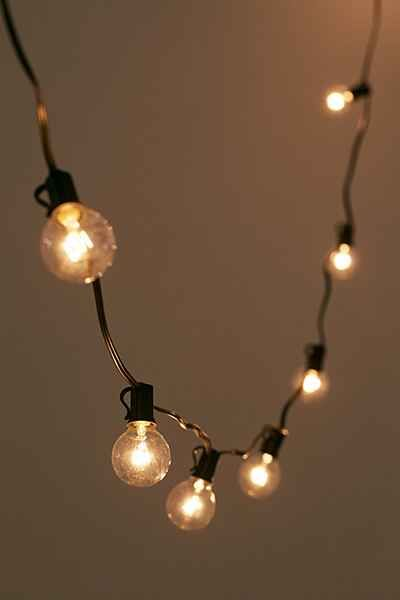 Globe Bulb String Lights Urban Outfitters : Best 25+ Globe string lights ideas on Pinterest Outdoor globe string lights, Backyard party ...