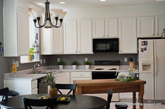 cabinet color is white dove by benjamin moore in the benjamin moore advance paint paint pinterest paint colors evolution and cabinets - Behr Paint Kitchen Cabinets