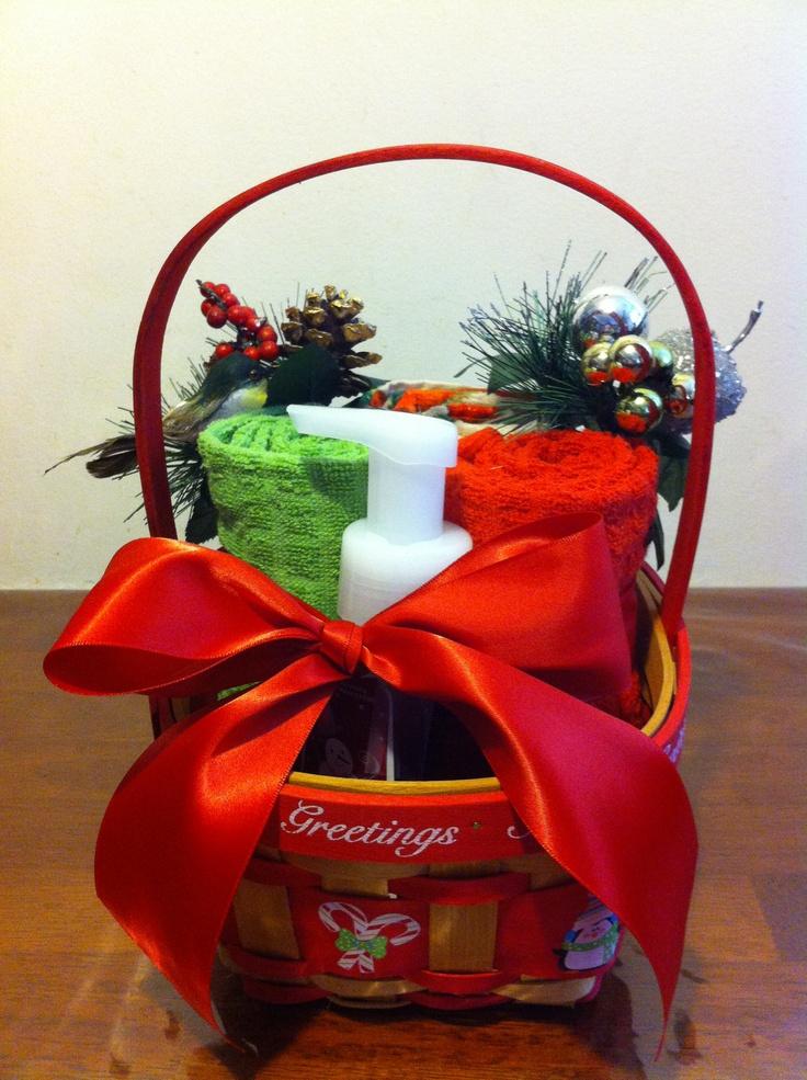 Christmas gift basket raffle ideas pinterest