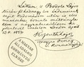 Kossuth Lajos kézírása