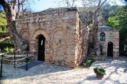 Turkey The House of the Virgin Mary at Ephesus