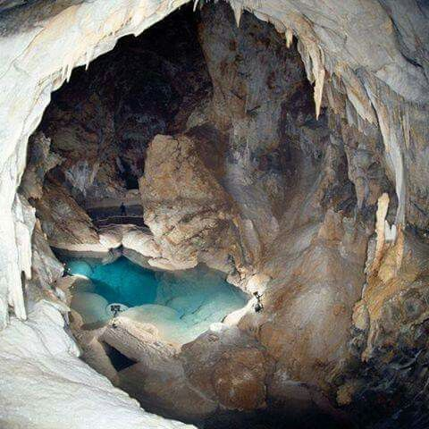 The Cave of Lakes, Kalavrita, Peloponnese, Greece