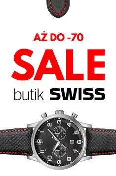 Wyprzedaż w butiku SWISS. Twoje ulubione marki aż do -70% ! Zapraszamy!