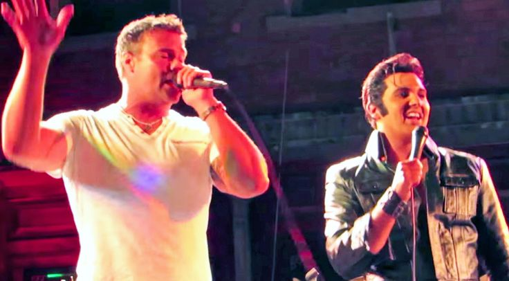 Troy Gentry Joins Elvis Impersonator For Iconic Tribute To The King