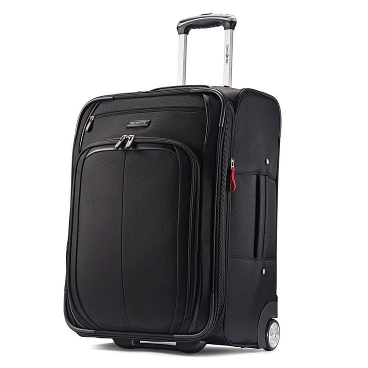 Samsonite Hyperspin 21-Inch Wheeled Carry-On Luggage, Black
