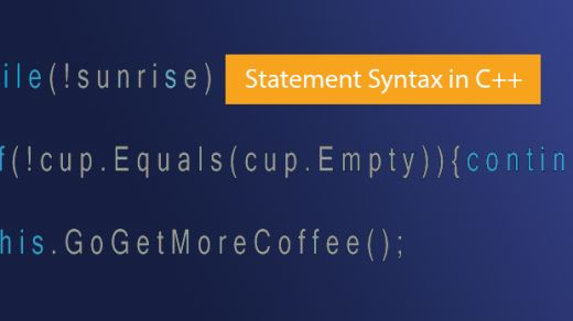 Syntax Statements (C++)
