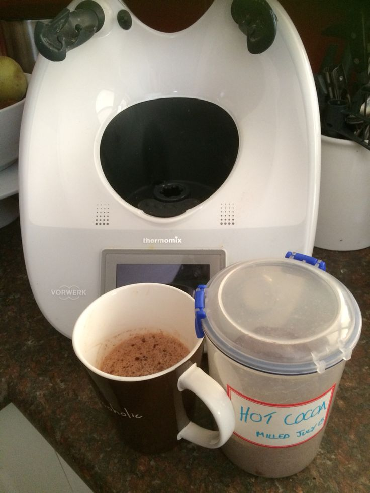 My 1st attempt at hot chocolate mix ... Yummy