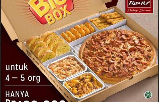 Big Box Pizza Hut untuk 4-5 Orang Hanya 180 Ribu | Tempatnya Promosi dan Diskon