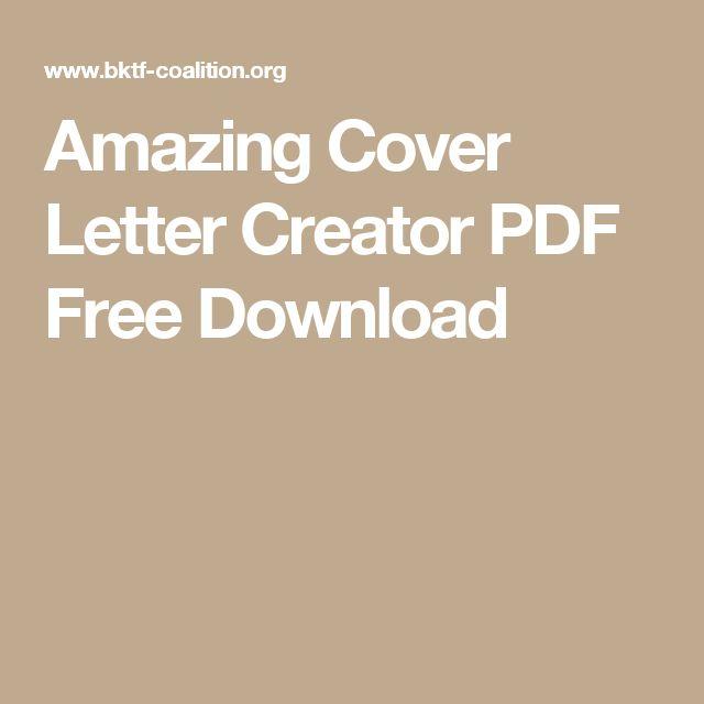 17 καλύτερα ιδέες για Letter Creator στο Pinterest - cover letter creator