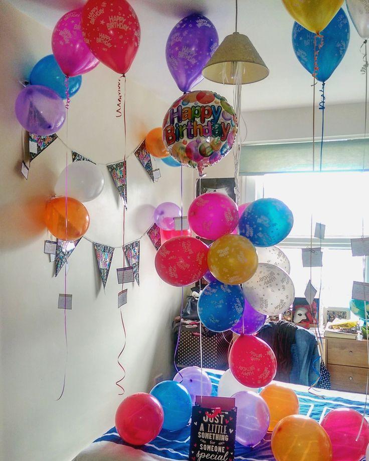 The 25 best Birthday balloon surprise ideas on Pinterest
