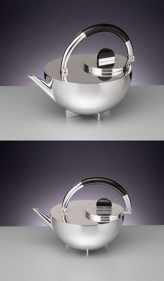 marianne brandt mbtk 24 si bauhaus teapot f o r t h e. Black Bedroom Furniture Sets. Home Design Ideas