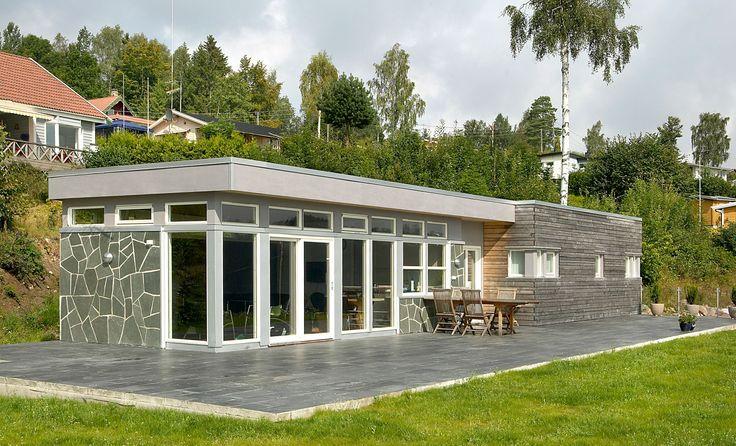 Solbris er ei hytte som gir deg fritt utsyn til omgivelsen ...