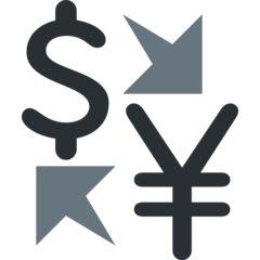 Currency Exchange on Twitter Twemoji 2.4