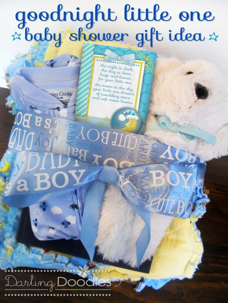 Goodnight Little One Baby Shower Gift All You Need Is A