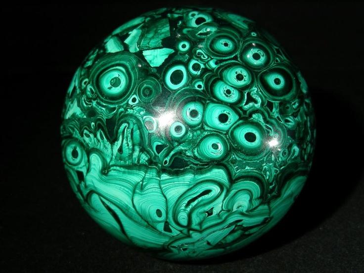 Malachite Sphere: Crystals Gemstone, Stones Rocks Minerals, Jewelry Gems Stones Rocks, Malachite Sphere, Crystals Ball, Gemstone Malachite, Crystals Rocks Gemstone, Chakra Healing, Earth Beautiful