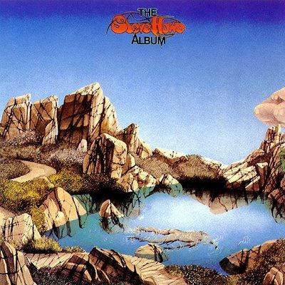 Steve Howe solo album cover art by Roger Dean