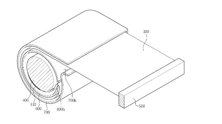 Samsung patent suggests roll-up TVs are on the cards