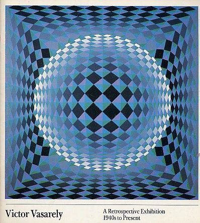 Victor Vasarely Op ART BOOK Retrospective Exhibition Catalog Contemporary…