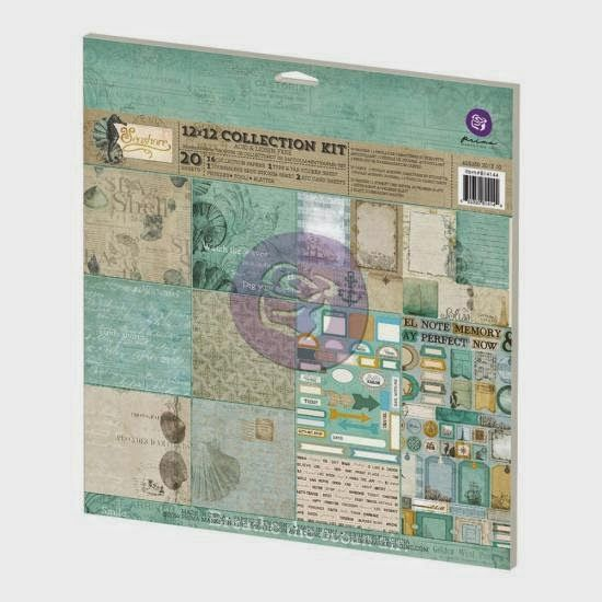 Happy smile♪: SB Shop Palette DT work vol.1 Prima Seahorse collection