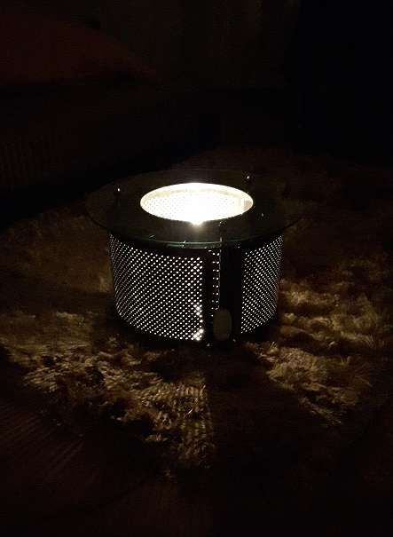 Coffee table, ambient light