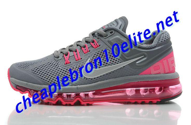 Cool Grey Nike Air Max 2013 Womens Pink 555363 006