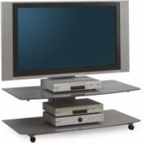 """Teatro TV Stand in Black For 42"""" TVs by Alphason is the perfect solution for those who want to enjoy a large LCD, LED or plasma television in their room. #Furniture #PriceCrashFurniture #TVFurniture #TV #Television #LivingRoom #Alphason #TVStand http://pricecrashfurniture.co.uk/tv-furniture.html?p=2"""