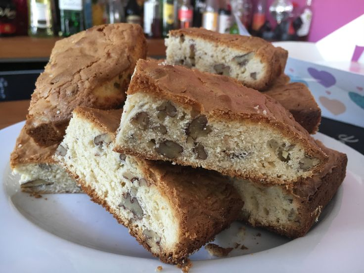 2016 Week 1 Seriously Nutty Blondies by our very own Celia - delicious