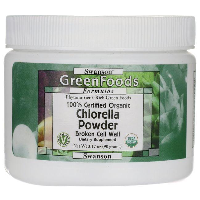 Chlorella Powder Organic High Quality Cell Wall Organic Protein Organic