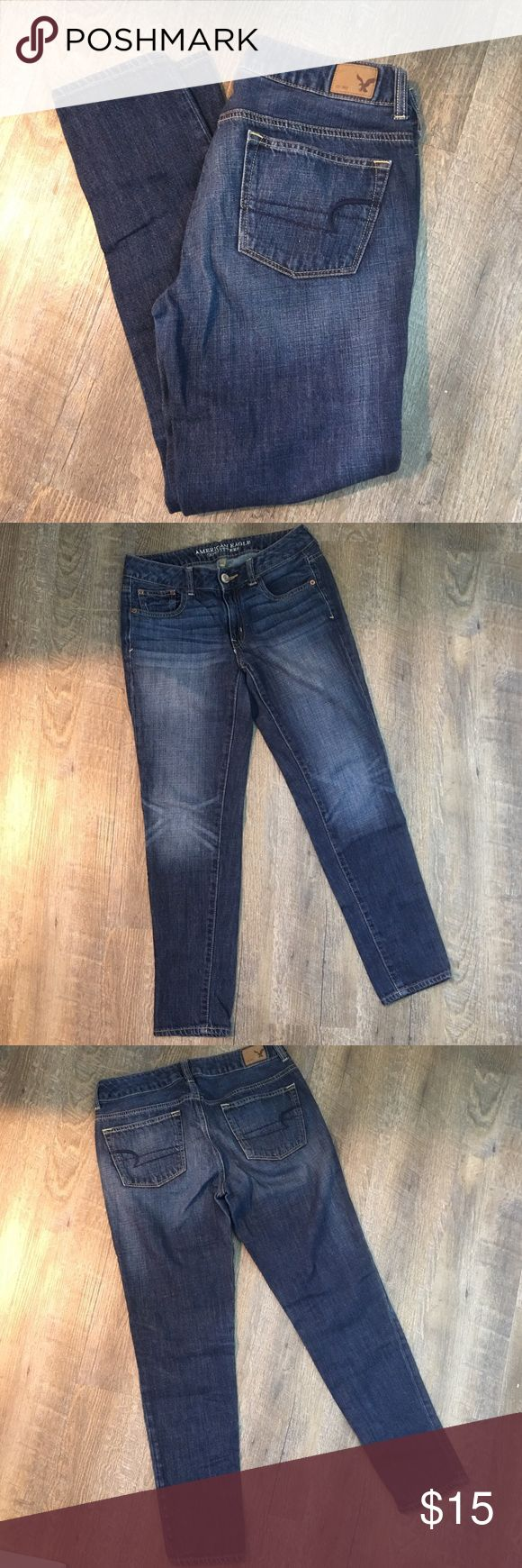 """AE Outfitters Skinny jeans🔅28"""" waist🔅8"""" rise🔅27"""" inseam🔅boy jeans American Eagle Outfitters Jeans Skinny"""