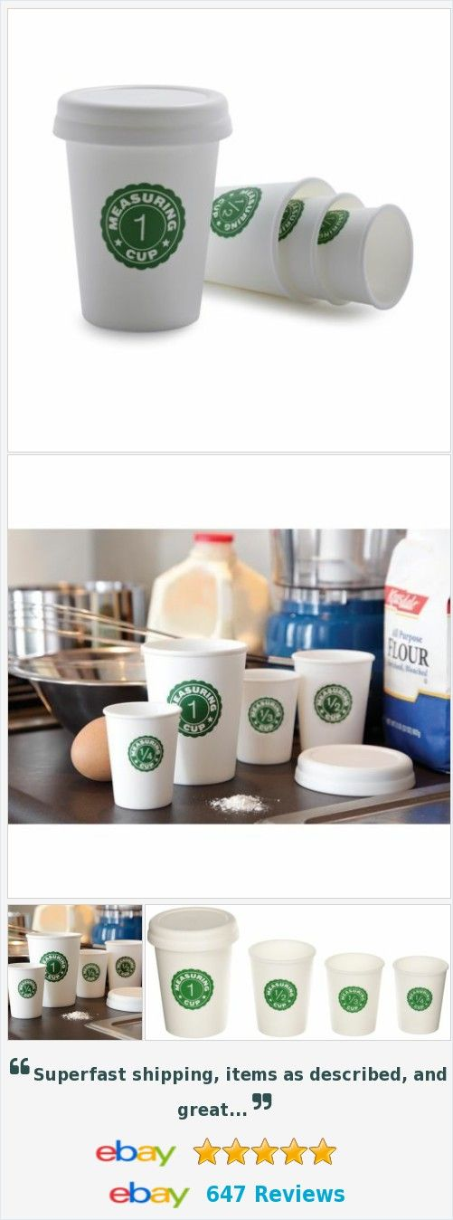 Nested Measuring Cup Coffee Cup Design Kitchen Tools http://www.ebay.com/itm/Nested-Measuring-Cup-Coffee-Cup-Design-Kitchen-Tools-/182275561913