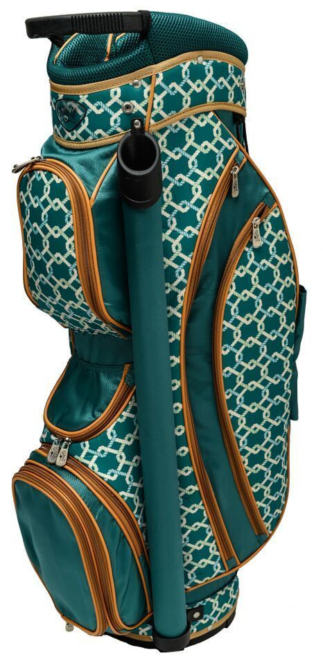 Glove It Cape Cod Ladies Golf Bag Glove It 8-Way golf bags are fabulous.  Golf bags are light in weight and constructed with 75 denier nylon. The Glove It golf cart bags feature eight way full length