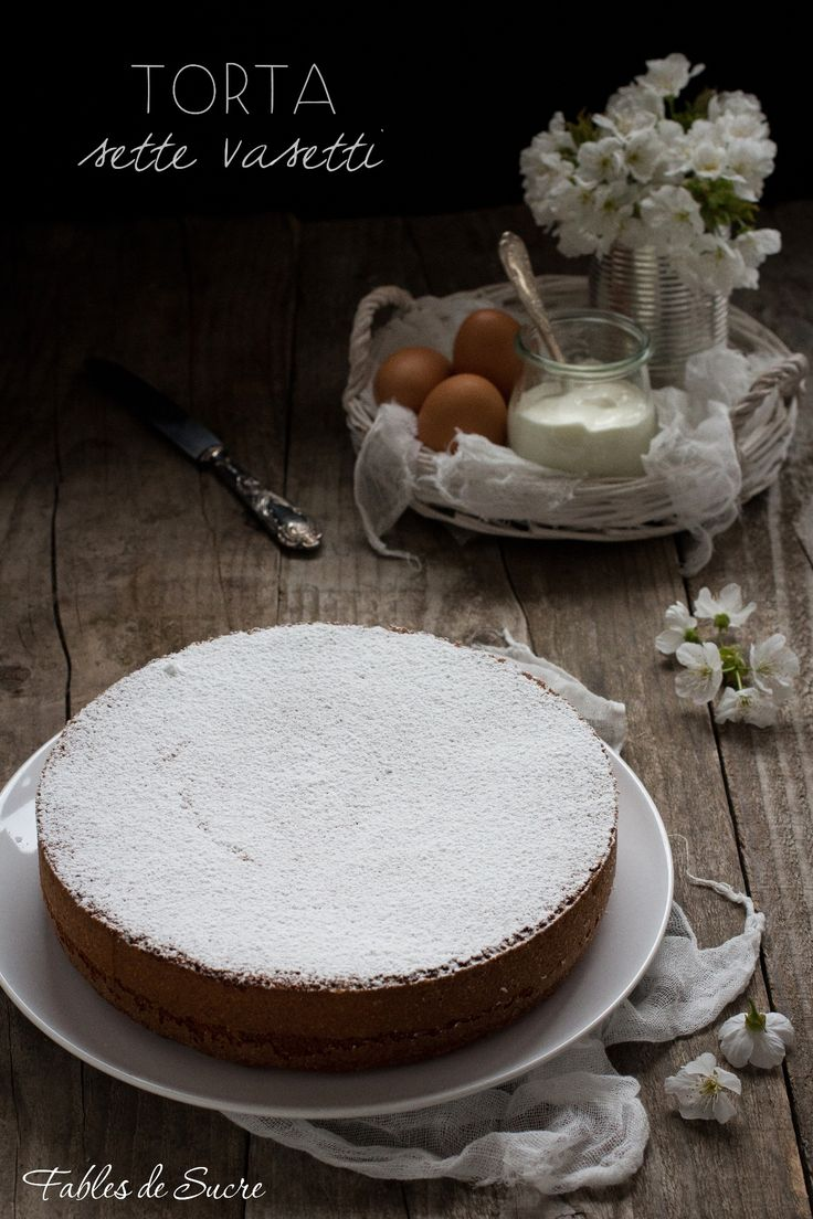 Fables de sucre - Torta sette vasetti con yogurt