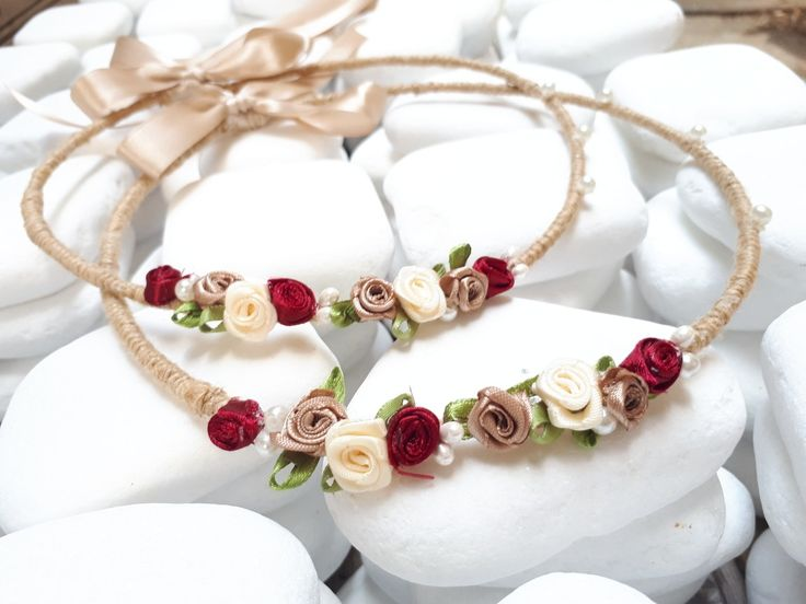 Χειροποίητα στέφανα γάμου vintage καλέστε 2105157506