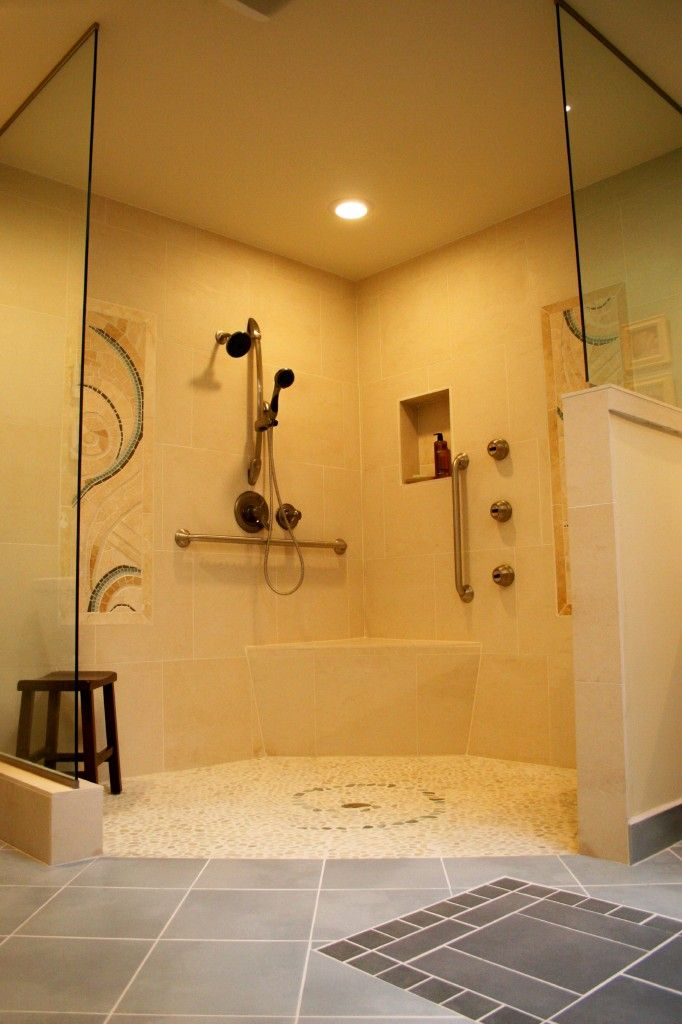 Handicap bathroom designs home design for Pictures of handicap bathrooms
