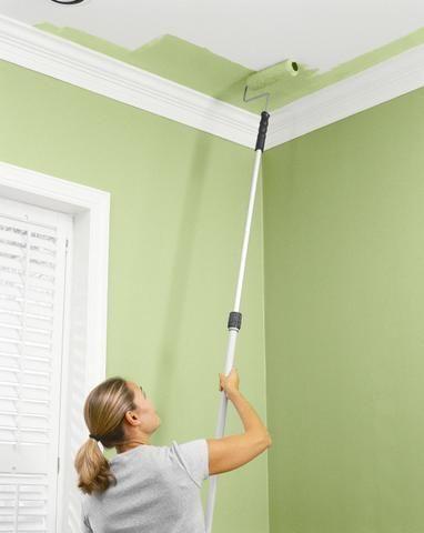 Cómo Pintar un Techo - Para Más Información Ingresa en: http://fotosdesalas.com/como-pintar-un-techo/