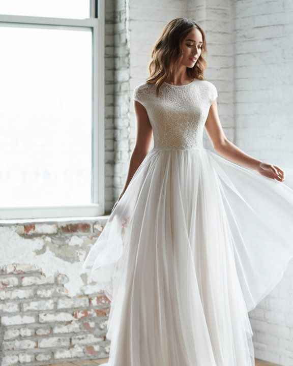 Style 7854 Riva Ti Adora By Allison Webb Bridal Gown Ivory