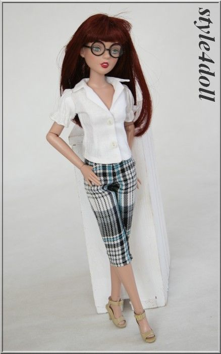 "style4doll - blouse & trousers for Agatha Primrose 13"" Tonner  | eBay"
