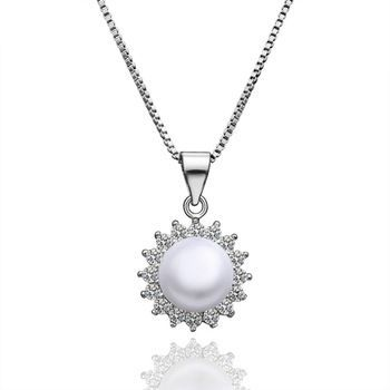 39 best diamonds etc images on pinterest beautiful things alibaba hot sale sjlknplp002 trendy pave aaa cubic zirconia artificial white pearl 18k gold plating sun flower pearl necklace buy artificial white pearl aloadofball Image collections