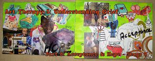 A Pretty Talent Blog: Art Therapy 5: Understanding Grief Part 8 of 8 - Acceptance & Hope (Phase 7)