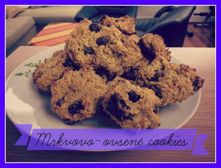 Zdravé mlsanie II. - Mrkvovo-ovsené cookies