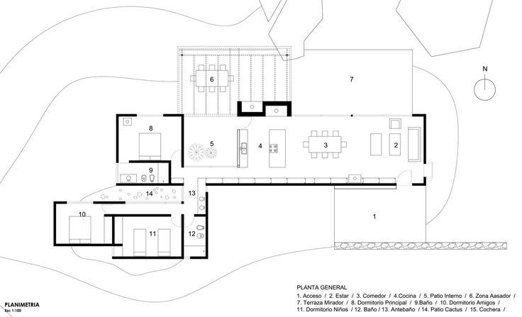 Diseño casa de campo tres dormitorios   Construye Hogar