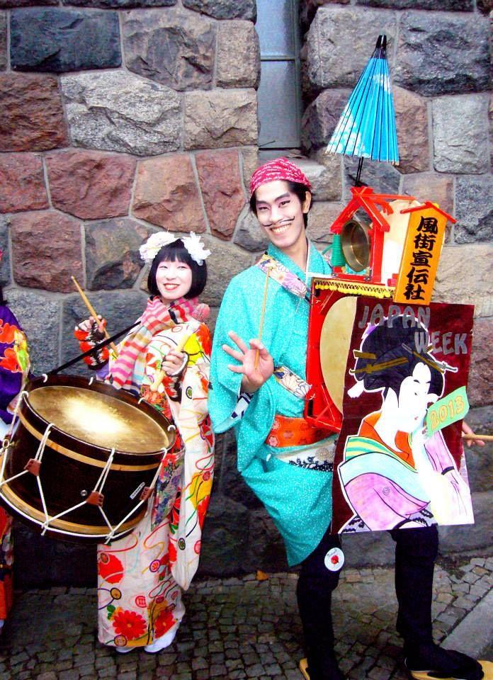 Poznan Poland, inauguracja Japan Week,19 października 2013 [mat.Miasto Poznań]