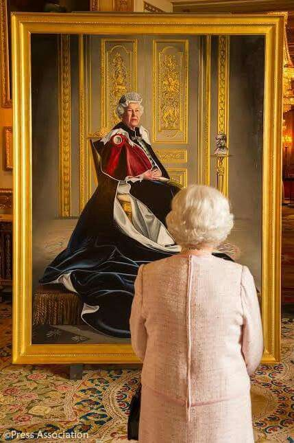 A new portrait of The Queen has been unveiled today by Her Majesty in a ceremony at Windsor Castle to celebrate six decades' as Patron of the British Red Cross  It was painted by the artist Henry Ward and is the first time The Queen has been depicted in a portrait as the patron of the charity, which supports people in crisis in the UK and overseas.    Queen Victoria became the first Royal Patron of the charity in 1870 and The Queen assumed her role following her accession to the throne in…