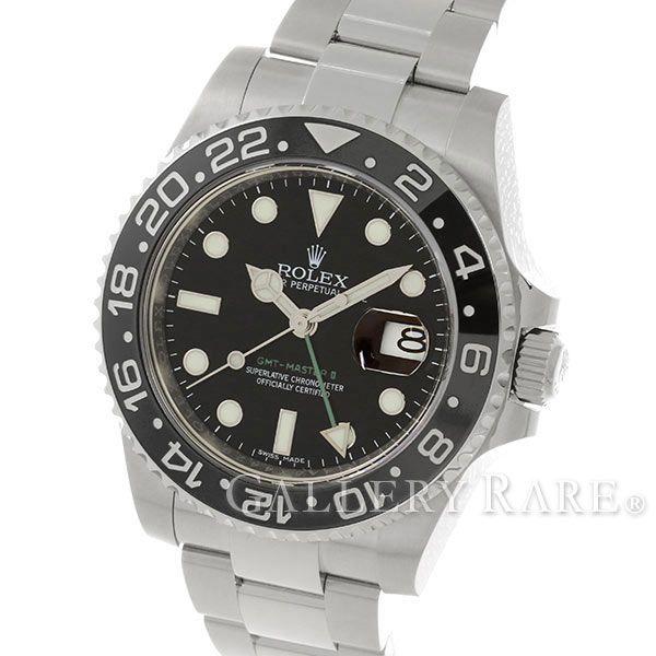 ロレックス GMTマスター 2 デイト ランダムシリアル ルーレット 116710LN ROLEX 腕時計