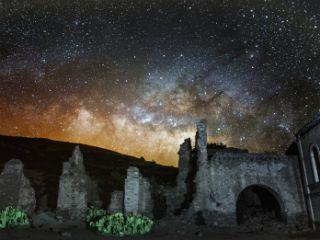 Real De Catorce en San Luis Potosí foto del astrofotógrafo César Cantú