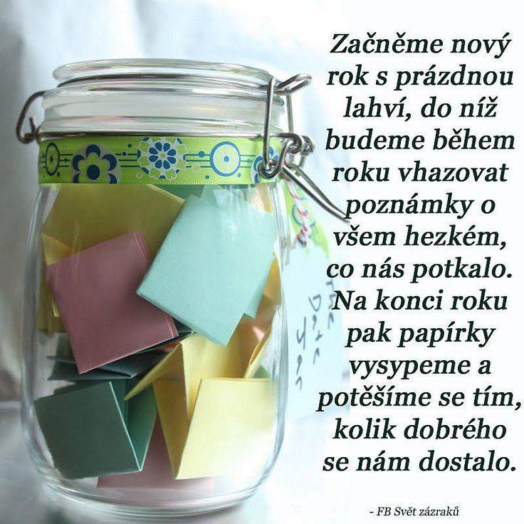 hezké vzpomínky v lahvi