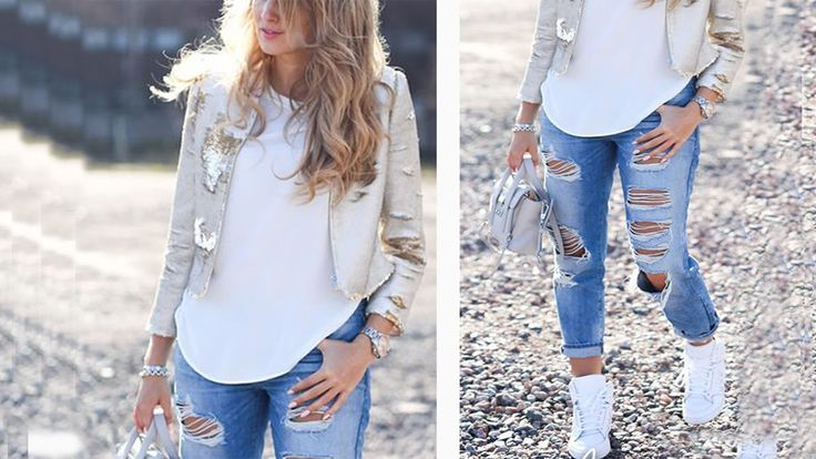 Outfits con Jeans Moda 2016