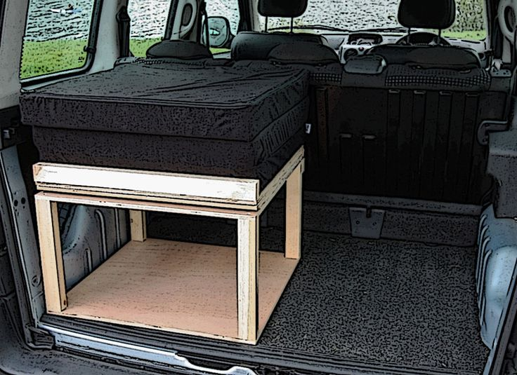 £399 Citroen Berlingo & Peugeot Partner camper van conversion. Modular lift in/lift out unit can be installed or removed in seconds. Delivery to any UK mainland address for £25.